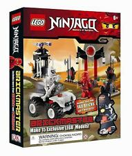 LEGO Ninjago Brickmaster Masters of Spinjitzu Set & Book 140 Bricks - 2 Figures