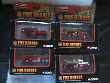 Corgi Showcase Collection Fire Heroes Commemorating Our Bravest Set of 4