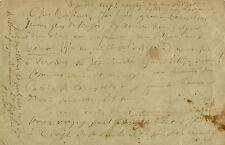 Paul VERLAINE. Lettre autographe signée à Henry Carton de Wiart.