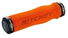 Ritchey WCS Ergo Locking Truegrip Lock-On Mountain Bike MTB Grips Orange