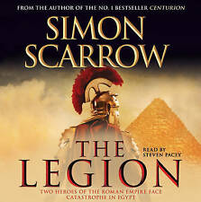 The Legion by Simon Scarrow (4 CD-Audio, 2010)