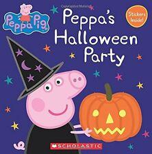 Peppa's Halloween Party (Peppa Pig: 8x8) by Eone (Halloween, Pigs) [Paperback]