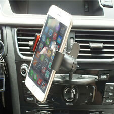 Universal Car Auto CD Mount Mobile GPS Stand Cradle Holder For Samsung iphone