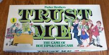 Vintage 1981 Trust Me Board Game Parker Brothers 100% Complete MINT CONDITION