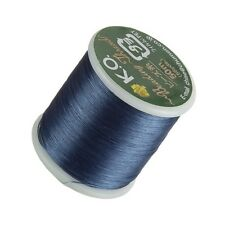 KO Denim Blue Japanese Nylon Beading Thread 50m Reel (D50/3)