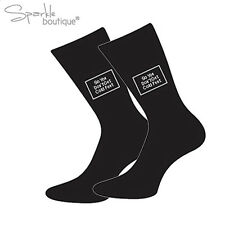 'So You Don't Get Cold Feet' - Wedding Socks for the Groom - Fun Gift / Present