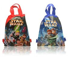 Hot+New,4pcs Star Wars Kids Drawstring Backpack School Party Bag Children Gift