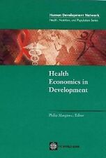 Health Economics in Development (Health, Nutrition, and Population Ser-ExLibrary