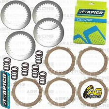 Apico Clutch Kit Steel Friction Plates & Springs For Kawasaki KX 65 2000-2017