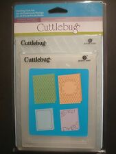 4 WEDDING SUITE Embossing Folders For Cricut Cuttlebug Die Cut Embossing Machine