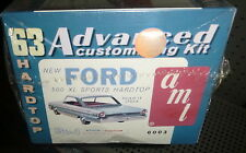 AMT 1963 Ford Galaxie HARDTOP BC 1/25 Model Car Mountain KIT FS