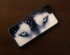 PERSONALISED SIBERIAN HUSKY I PHONE 6 BLACK  MOBILE PHONE COVER IPHONE CASE