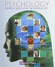 Psychology in Modules by David G. Myers (2012, Paperback) 10th edition
