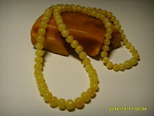 Butter Genuine Baltic Amber necklace 14.05grams   A-282