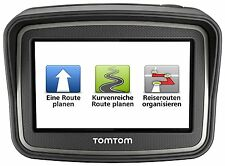 TomTom RIDER v4 Europa 45 MOTO dispositivo di navigazione XL display Free Lifetime Maps