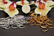 50 PCS Mini Gold Silver Wedding Ring Decorations Table Scatter Confetti Crafts