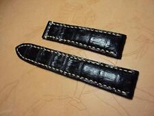 Carl F. Bucherer padded crocodile watch strap band Cheergiant straps寶齊萊鱷魚皮手工錶帶