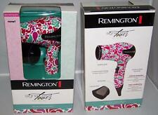 NEW Remington Signature Tools Mini Series 1000w Comact Travel Hair Dryer