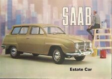 Saab 95 2-Stroke Estate 1964-65 UK Market Sales Brochure