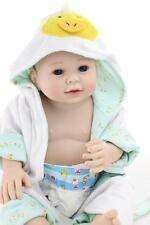 Lifelike 20'' Full Body Silicone Reborn Doll Simulation Boy Baby Doll Realistic