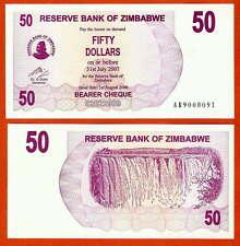 P41   ZIMBABWE / Simbabwe  50 Dollar   2006 UNC