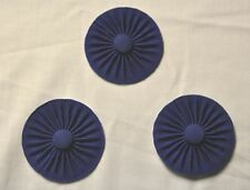 New Masonic set of 3 Craft Provincial Apron Rosettes (CR101)