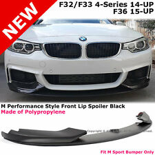 14-17 BMW 428i 435i F32 F33 F36 M Performance M Sport Style PP Front Lip Spoiler