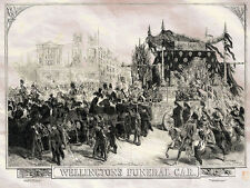 Wellingtons Funeral Car Arthur Wellesley Williamson Gilbert 1852 Photo Print A4