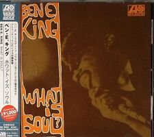 BEN E. KING What Is Soul? CD BRAND NEW Japanese Edition w/ Obi