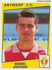 N°058 MANUEL GODFROID # BELGIQUE ANTWERP.FC STICKER PANINI FOOTBALL 1997