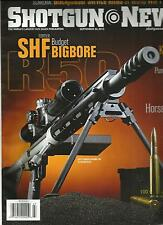 SHOTGUN NEWS, SEPTEMBER, 30th 2013  (THE WORLD'S LARGEST GUN SALES PUBLICATION