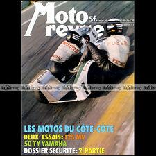 MOTO REVUE N°2296 MV AGUSTA 125 S, YAMAHA TY 50, STEINHAUSEN-HUBER, BMW R12 1976