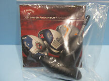 CALLAWAY UNIVERSAL TORQUE WRENCH 2014 CALLAWAY GOLF WRENCH WITH BOOKLET NIP