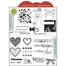 Unity Stamp A Mother's Love Wishes And Kisses, NEW