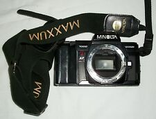 Minolta 7000 Maxxum 35 mm Point And Shoot Film SLR Camera Body Only With Strap