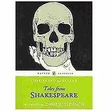 Puffin Classics: Tales from Shakespeare by Charles & Mary Lamb c2010 NEW PB