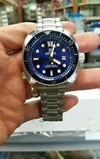 NEW DEEP BLUE MILITARY DIVER 300 SWISS  AUTOMATIC-DIVER BLUE DIAL/ BLUE BEZEL.