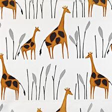 2 Metres Prestigious Textiles Geoffrey Giraffe Children's Cotton Curtain Fabric