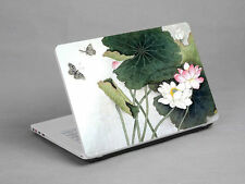 "15.6""  Laptop Notebook Skin Sticker Cover Deco Lotus Painting Sony Vaio HP Dell"