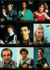 BLAKES 7 SERIES 2 COMPLETE CHASE SET All 9 Cards