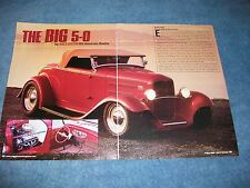 "Rod & Custom's 50th Anniversary 1932 Ford Roadster Article ""The Big 5-0"""
