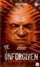 WWE Unforgiven 2003 DVD orig WWF wrestling Triple H vs Goldberg