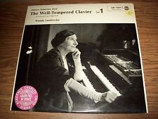 Bach Preludes & Fugues 9-16 Well-Tempered Clavier Landowska RCA LM-1107-C German