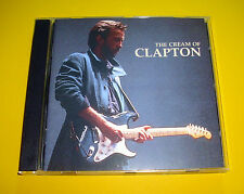 """CD """" ERIC CLAPTON - THE CREAM OF ERIC CLAPTON """" BEST OF / 18 SONGS (CROSSROADS)"""