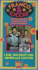 FRANCO E CICCIO - I DUE SERGENTI DEL GENERALE CUSTER (1965) VHS
