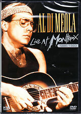 AL DI MEOLA live at montreux 1986/1993 DVD NEU OVP/Sealed