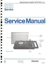 Philips Original Service Manual für 22 AF 100