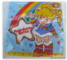RAINBOW BRITE Party NAPKINS LUNCH Birthday supplies Doll Decoration Treats x16 *