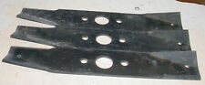 "LOT OF 3 LAWN MOWER TRACTOR BLADE FOR SEARS CRAFTSMAN ROPER 42"" PARTS 95-010"
