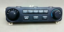 2001 2002 01-02 HONDA ACCORD A/C AC HEATER MANUAL TEMPERATURE CLIMATE CONTROL